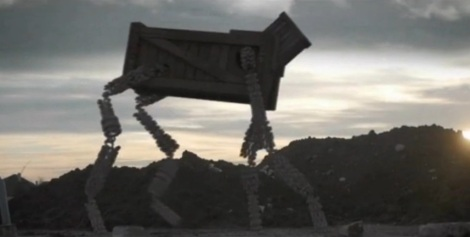 An example of the effects work Carruth was doing to create the Choruses for A Topiary. This is part of a short clip playing on Kris's computer in Upstream Colour.