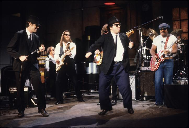 Stories from the set the blues brothers one room with a - Who was in my room last night live ...