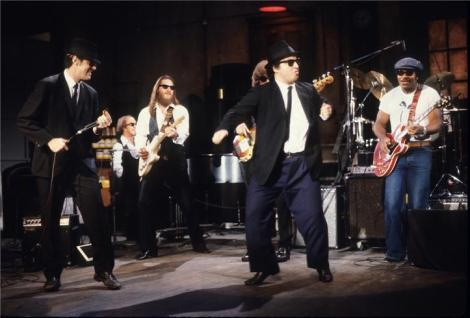 blues brothers performing entire band saturday night live NEW YORK CITY, 1980